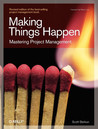 Making Things Happen by Scott Berkun