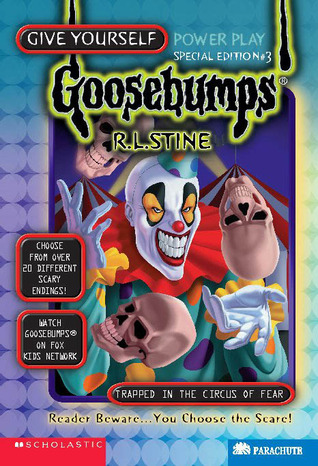 Trapped in the Circus of Fear by R.L. Stine