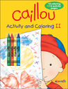 Caillou: Activity and Coloring II