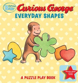 Curious Baby Everyday Shapes Puzzle Book by H.A. Rey