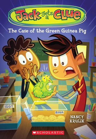 The Case of the Green Guinea Pig by Nancy E. Krulik