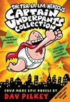 Captain Underpants Boxed Set #5-8 (Captain Underpants)