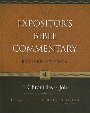 1 Chronicles--Job by Tremper Longman III