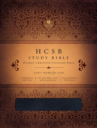 HCSB Study Bible, Black Bonded Leather by Holman Bible Publisher