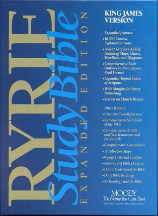 Ryrie Study Bible Expanded Edition - King James Version by Anonymous