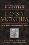 Lost Victories by Erich von Manstein