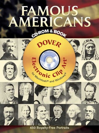 Famous Americans CD-ROM and Book by Dover Publications Inc.