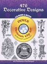 476 Decorative Designs CD-ROM and Book