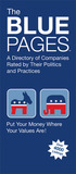 The Blue Pages: A Directory of Companies Rated by Their Politics and Practices