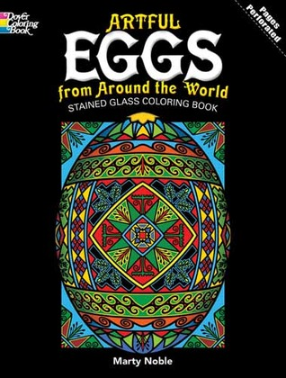 Coloring Books:  Artful Eggs from Around the World Stained Glass