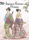 Japanese Kimono Designs Coloring Book by Ming-Ju Sun