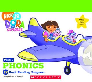 Phonics 12 Book Reading Program (Pack 3) (Dora The Explorer) Quinlan B. Lee