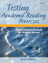 Testing Academic Reading Processes: A Reproducible Resource for Reading Courses
