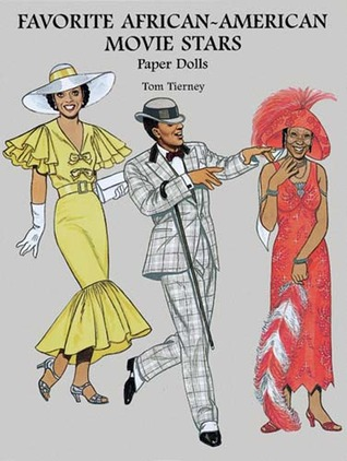 Favorite African-American Movie Stars Paper Dolls by Tom Tierney