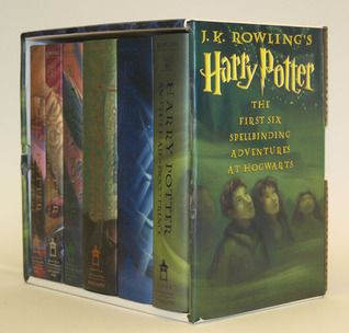Harry Potter Hardcover Boxed Set, Books 1-6 by J.K. Rowling