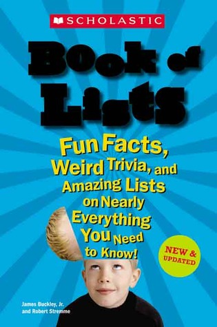 Scholastic Book Of Lists New And Updated by James Buckley Jr.