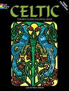 Celtic Stained Glass Coloring Book