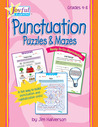 Joyful Learning: Rtg Reproducibles: Punctuation Puzzles & Mazes