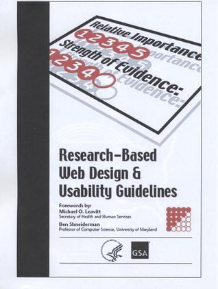 Research-Based Web Design & Usability Guidelines by U.S. Health and Human Servi...