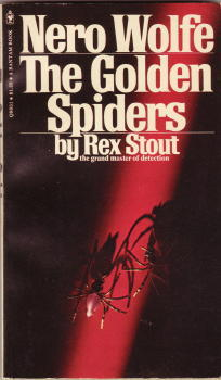 The Golden Spiders by Rex Stout