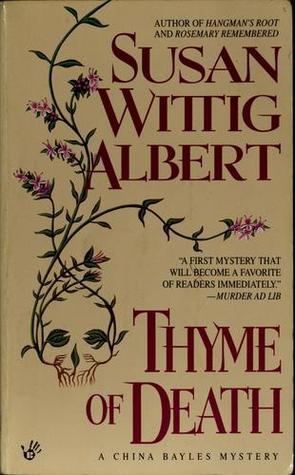 Thyme of Death by Susan Wittig Albert