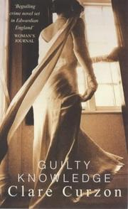 Guilty Knowledge (Virago Crime)
