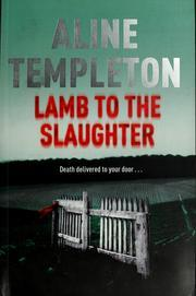 Lamb To The Slaughter (DI Marjory Fleming #4)