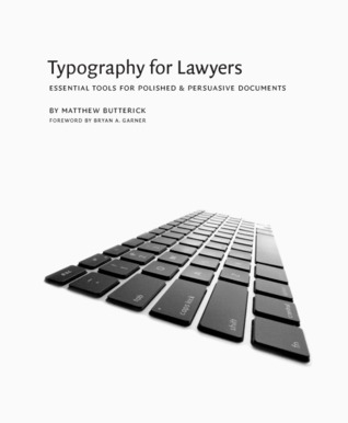 Typography for Lawyers by Matthew Butterick