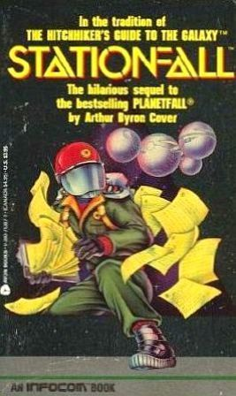 Stationfall by Arthur Byron Cover