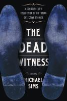 The Dead Witness by Michael Sims