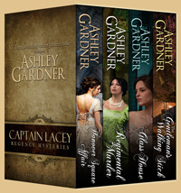 Captain Lacey Regency Mysteries Volume One by Ashley Gardner