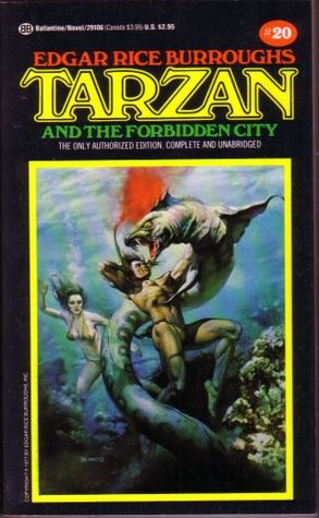 Tarzan and the Forbidden City by Edgar Rice Burroughs