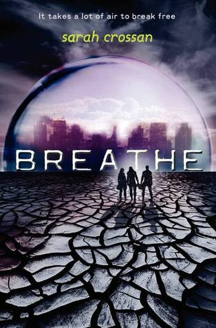 book cover for breathe by sarah crossan