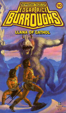 Llana of Gathol by Edgar Rice Burroughs