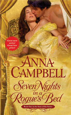 Seven Nights in a Rogue's Bed by Anna Campbell