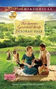 The Baron's Governess Bride by Deborah Hale