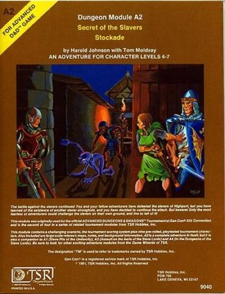 Secret of the Slavers Stockade (Advanced Dungeons & Dragons module A2)