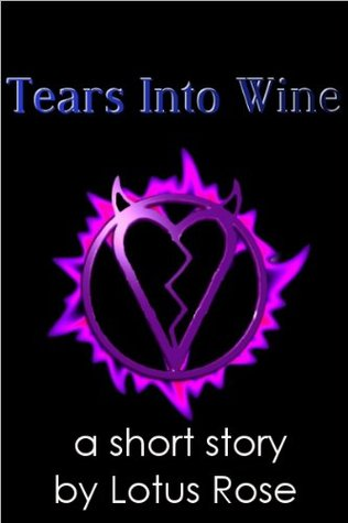 Tears into wine