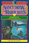 Danger on Ice (Nancy Drew and the Hardy Boys: Be a Detective, #2)