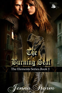 The Burning Seal by Jenna Storm