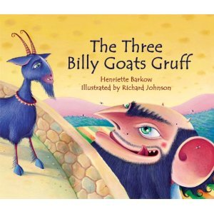 The Three Billy Goats Gruff by Peter Christen Asbjørnsen