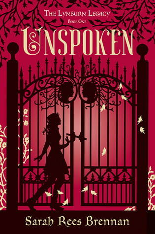 book cover image of Unspoken by Sarah Rees Brennan