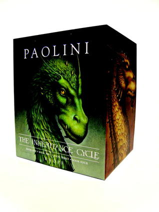 Inheritance Cycle 4-Book Hard Cover Boxed Set (Eragon, Eldest... by Christopher Paolini