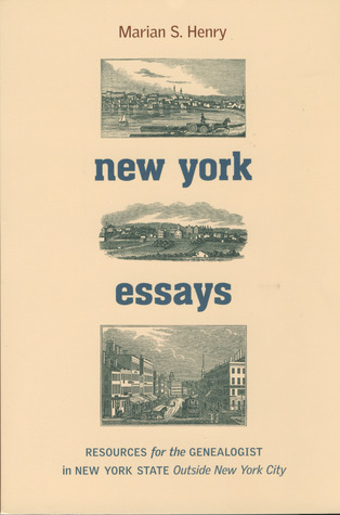 New York Essays by Marian S. Henry