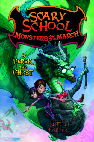 Monsters on the March by Derek The Ghost