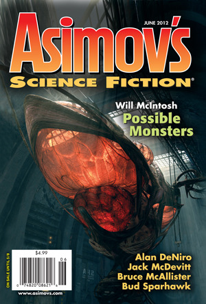 Asimov's Science Fiction, June 2012 by Sheila Williams