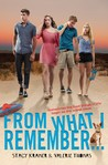 From What I Remember... by Stacy Kramer