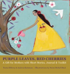 Purple Leaves, Red Cherries