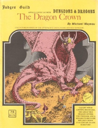 The Dragon Crown by Michael Mayeau