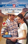 A Cowboy's Duty (Rodeo Rebels, #5)